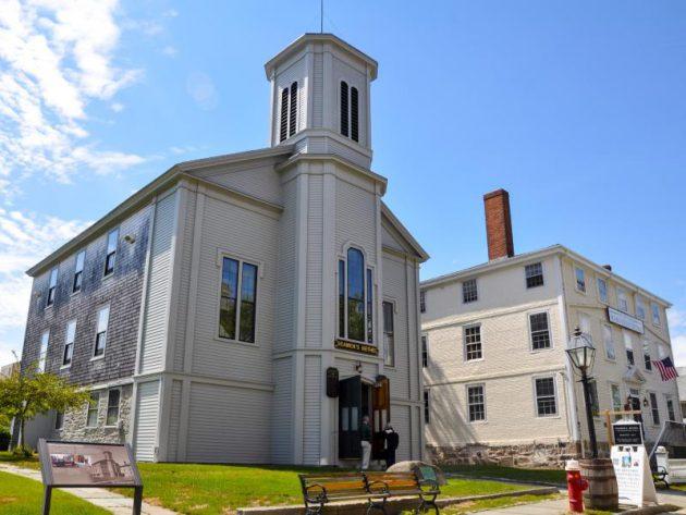 Seamen's Bethel and Mariners' Home. Credit: NPS Photo/Cara Pearson