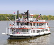 Mark Twain Riverboat at Hannibal, MO.