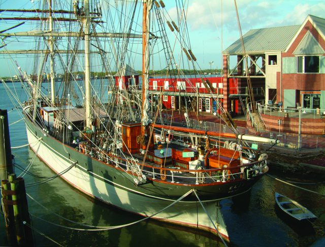 Tall ship Elissa (photo courtesy of Texas Seaport Museum)