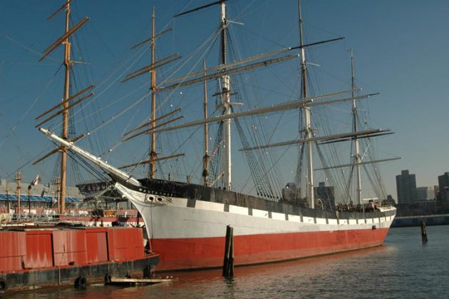 Tall ship Wavertree (Courtesy of George P. Landow)