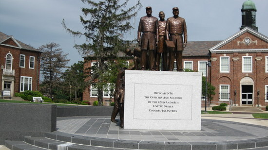 The Soldiers' Plaza, Lincoln University (photo by Cynthia Collins. All rights reserved).